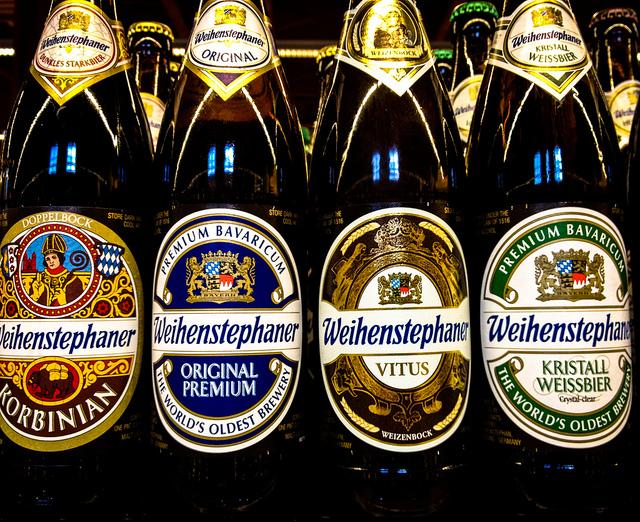 Bier van brouwerij Bayerische Staatsbrauerei Weihenstephan